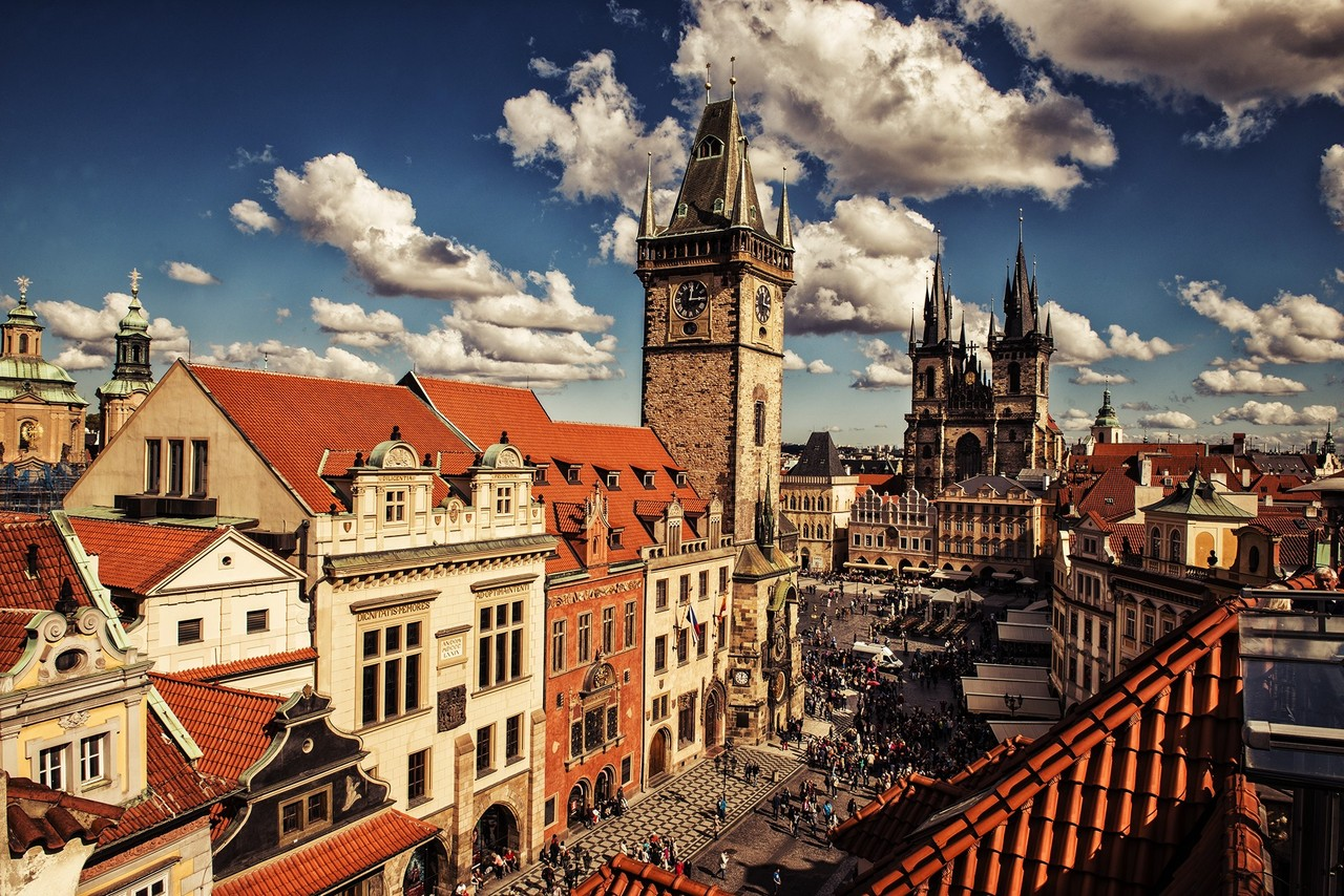 Prague Old Town Square - Czech Republic - Bohemia