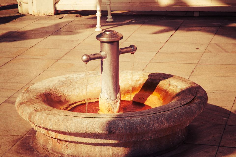 Karlovy Vary mineral water spring