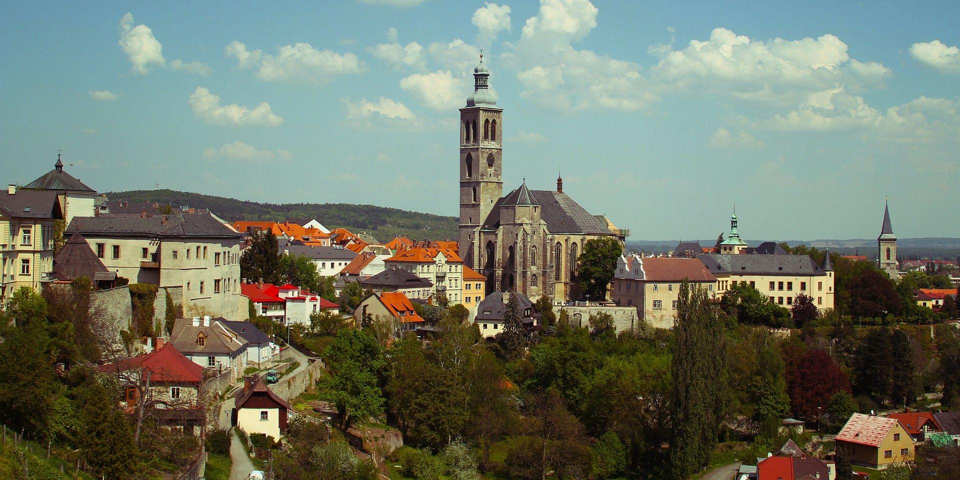 Kutna Hora St.James Church Czech Republic Bohemia Czechoslovakia