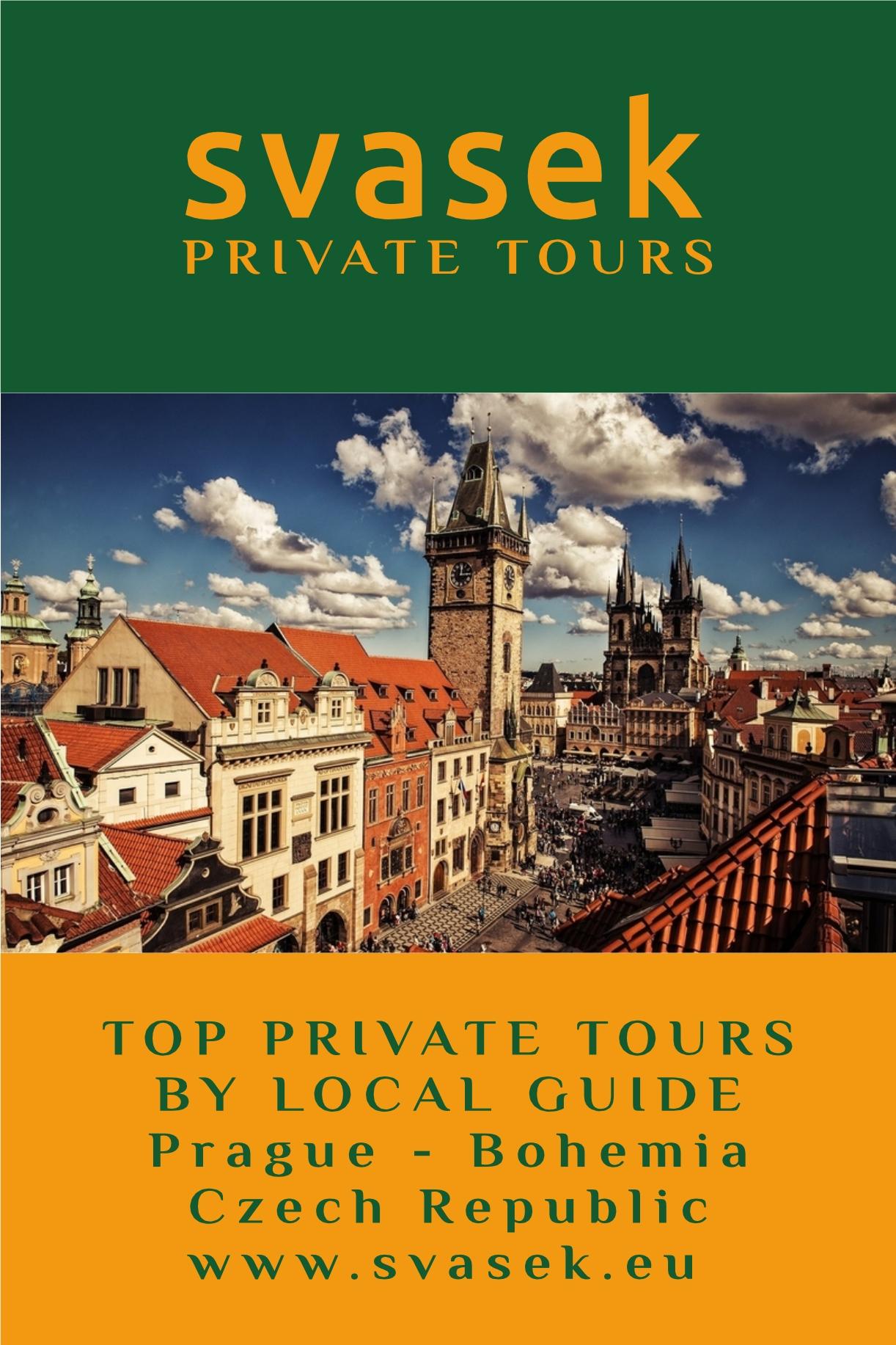 svasek PRIVATE TOURS TOP PRIVATE TOURS BY LOCAL GUIDE PRAGUE - BOHEMIA Czech Republic www.svasek.eu